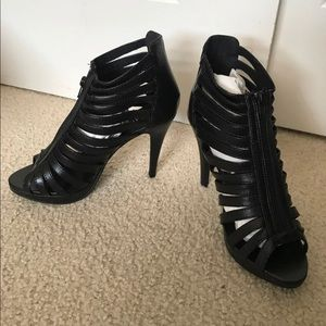 Agaci Black Heels Brand New